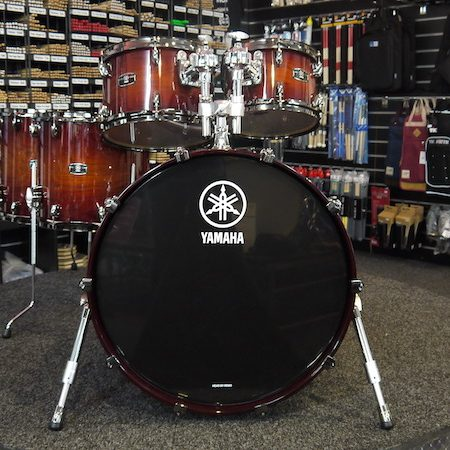 "Yamaha Live Custom 22"" (5pc) Shell Pack in Amber Shadow Sunburst"