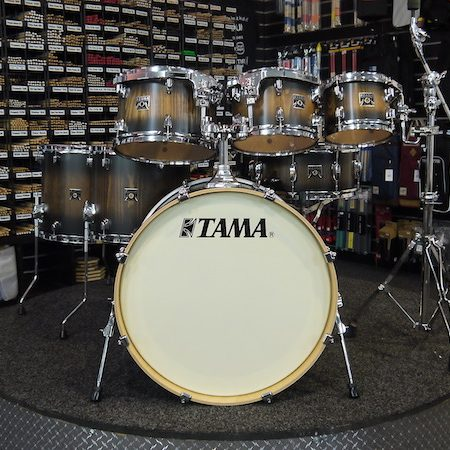 "Tama Superstar Classic 22"" (7pc) Shell Pack in Java Burst Lacebark Pine"