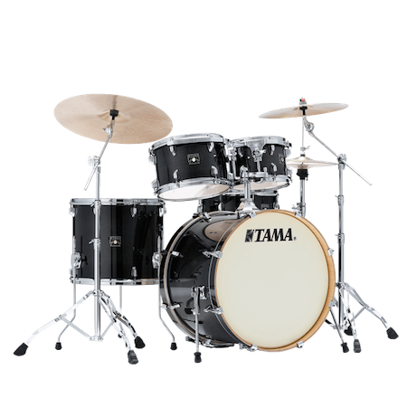 "Tama Superstar Classic 22"" Shell Pack (5pc) in Transparent Black Burst"
