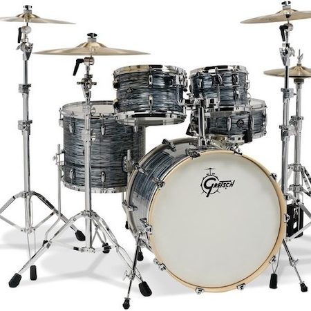 "Gretsch Renown 22"" (4pc) Shell Pack in Silver Oyster Pearl"