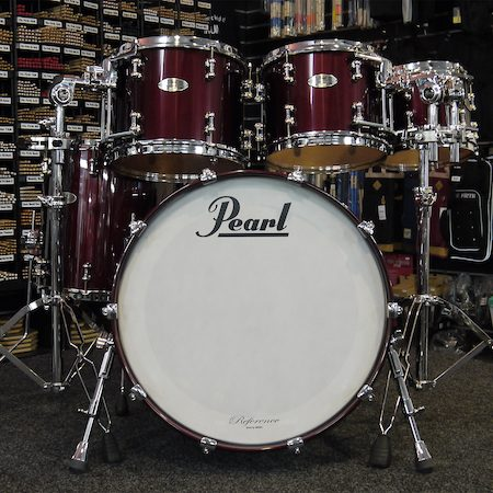 "Pearl Reference Pure 22"" (5pc) Shell Pack in Black Cherry"