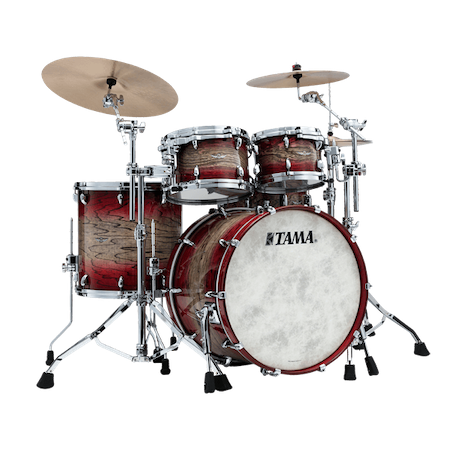 "Tama STAR Walnut 22"" (4pc) Shell Pack in Garnet Japanese Sen Burst"