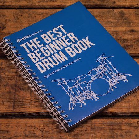 "Drumeo ""The Best Beginner Drum Book"""