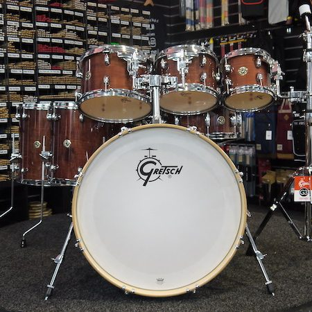 "Gretsch Catalina Maple 22"" (7pc) Shell Pack in Walnut Glaze"