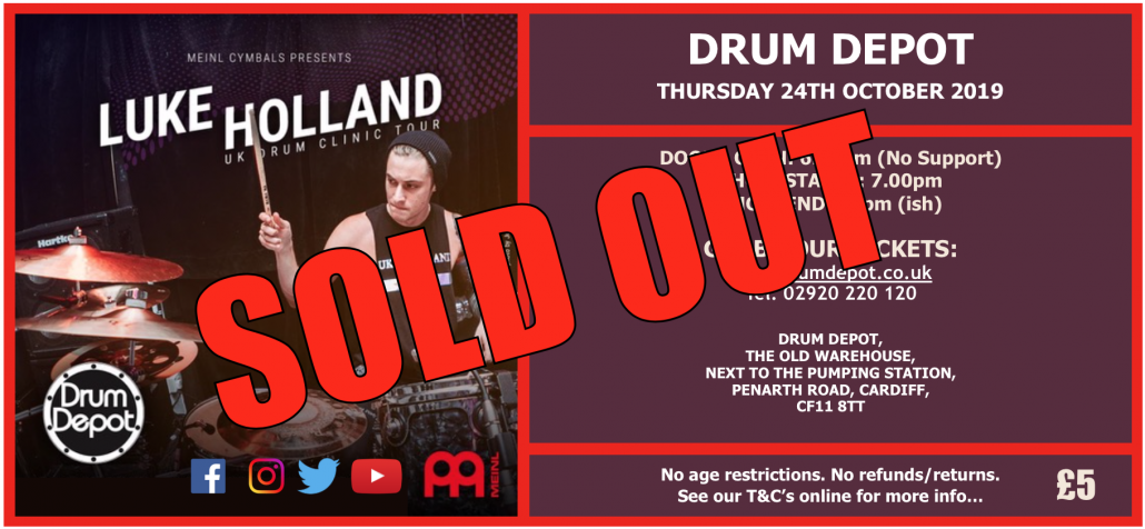 Luke-Holland-Ticket SOLD OUT