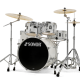 "Sonor AQ1 Stage 22"" Kit (5pc) in Piano White with Hardware"