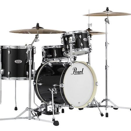 "Pearl Midtown 16"" Shell Pack (4pc) in Black Gold Sparkle"