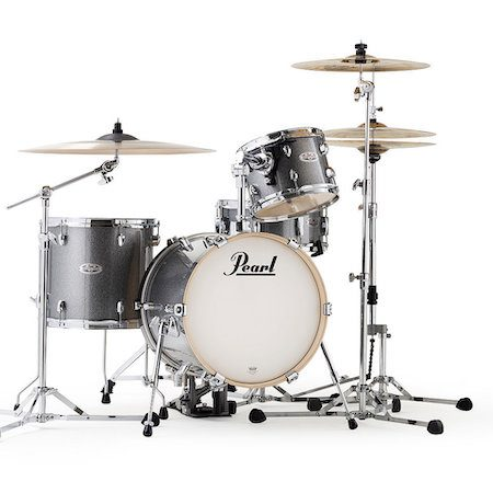 "Pearl Midtown 16"" Shell Pack (4pc) in Grindstone Sparkle"